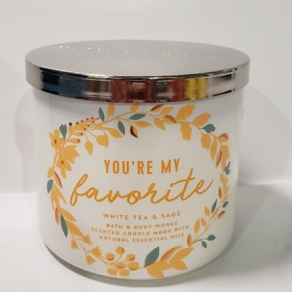 BATH AND BODY WORKS YOU'RE MY SUNSHINE CANDLE❗️